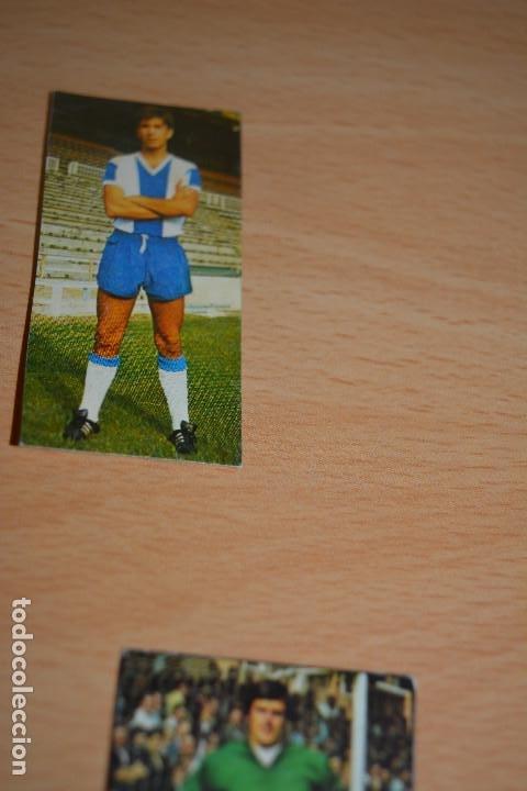CROMO MAL RECORTADO DE GONZALO (ESPAÑOL) (Coleccionismo Deportivo - Material Deportivo - Fútbol)
