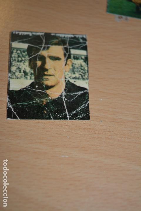 CROMO MAL RECORTADO DE IRIBAR (ATH BILBAO) (Coleccionismo Deportivo - Material Deportivo - Fútbol)