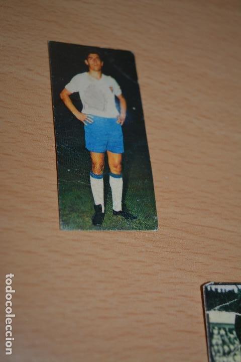 CROMO MAL RECORTADO DE DUÑABEITIA (ZARAGOZA) (Coleccionismo Deportivo - Material Deportivo - Fútbol)