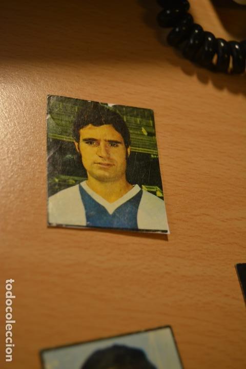 CROMO MAL RECORTADO DE JUAN MARTINEZ (ESPAÑOL) (Coleccionismo Deportivo - Material Deportivo - Fútbol)