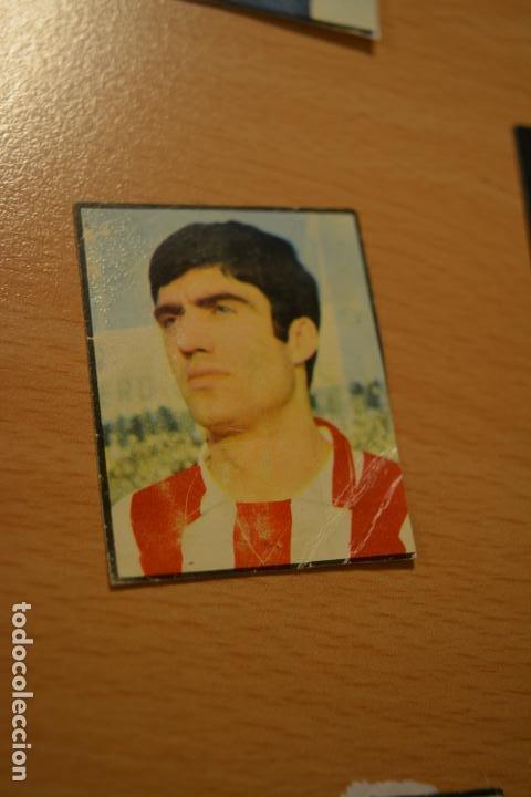 CROMO MAL RECORTADO DE FABIAN (SPORTING GIJON) (Coleccionismo Deportivo - Material Deportivo - Fútbol)