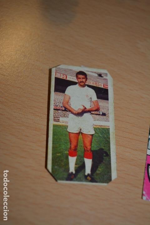 CROMO MAL RECORTADO DE JUAN FERMIN -(SEVILLA) (Coleccionismo Deportivo - Material Deportivo - Fútbol)