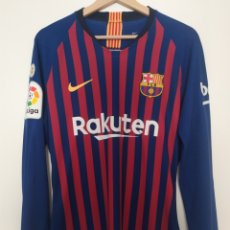 Coleccionismo deportivo: CAMISETA DEMBELE MATCH ISSUE/WORN BARCELONA. Lote 206777161