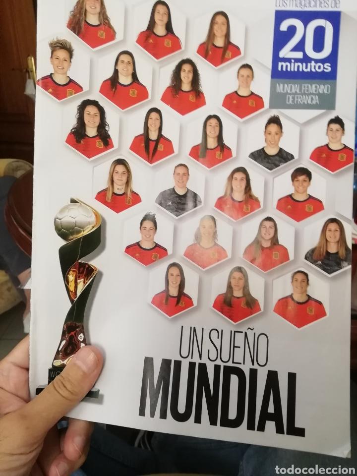 Coleccionismo deportivo: Fútbol femenino. Excelente lote Mundial 2019 Francia. Impresionante - Foto 2 - 206889303