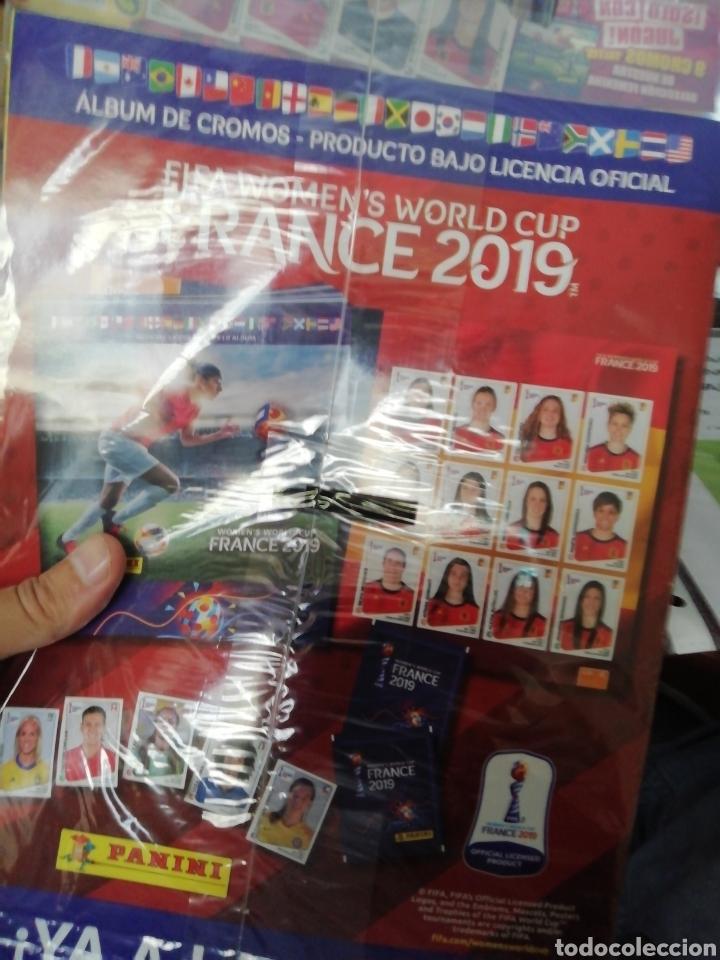 Coleccionismo deportivo: Fútbol femenino. Excelente lote Mundial 2019 Francia. Impresionante - Foto 3 - 206889303
