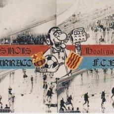 Coleccionismo deportivo: FOTOMONTAJE BOIXOS NOIS BARCELONA ULTRAS HOOLIGANS. Lote 207001270