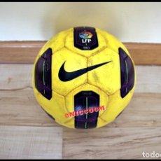 Coleccionismo deportivo: BALON OFICIAL DE LA LIGA DE FUTBOL PROFESIONAL LFP NIKE TOTAL 90 TRACER AMARILLO 2010 2011 JUGADO. Lote 207067591