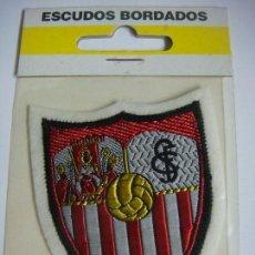 Coleccionismo deportivo: PARCHE DE TELA DEL ESCUDO DEL SEVILLA C.F.. Lote 207247363