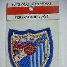 Coleccionismo deportivo: PARCHE DE TELA DEL ESCUDO DEL C.D. MALAGA. Lote 207247430