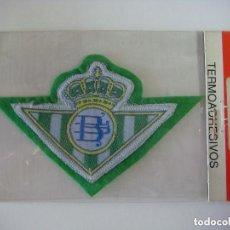 Coleccionismo deportivo: PARCHE DE TELA DEL ESCUDO DEL REAL BETIS. Lote 207247498