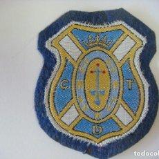 Coleccionismo deportivo: PARCHE DE TELA DEL ESCUDO DEL C.D. TENERIFE. Lote 207247526