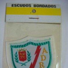 Coleccionismo deportivo: PARCHE DE TELA DEL ESCUDO DEL RAYO VALLECANO. Lote 207247557
