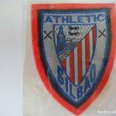 Coleccionismo deportivo: PARCHE DE TELA DEL ESCUDO DEL ATHLETIC BILBAO. Lote 207247620