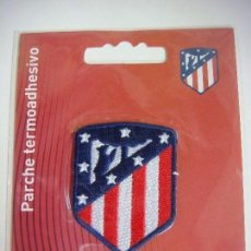 Coleccionismo deportivo: PARCHE DE TELA DEL ESCUDO DEL ATLETICO DE MADRID. Lote 207247643