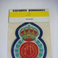 Coleccionismo deportivo: PARCHE DE TELA DEL ESCUDO DEL REAL MALLORCA. Lote 207259811