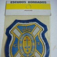 Coleccionismo deportivo: PARCHE DE TELA ESCUDO BORDADO DEL C.D. TENERIFE. Lote 207260478