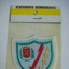 Coleccionismo deportivo: PARCHE DE TELA ESCUDO BORDADO DEL RAYO VALLECANO ES NUEVO. Lote 207260603