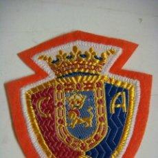 Coleccionismo deportivo: PARCHE DE TELA DEL CLUB ATLETICO OSASUNA. Lote 207260997