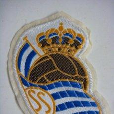 Coleccionismo deportivo: PARCHE DE TELA DE LA REAL SOCIEDAD.. Lote 207262117