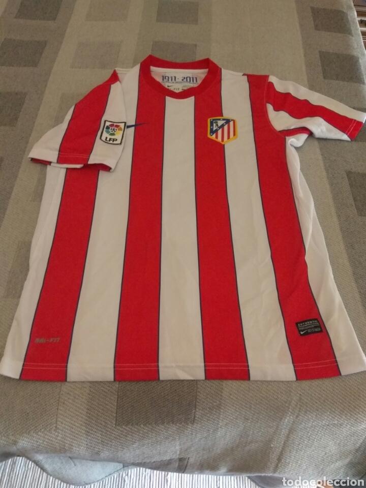 Coleccionismo deportivo: CAMISETA ATLÉTICO MADRID FALCAO NIKE ORIGINAL - Foto 2 - 207546467