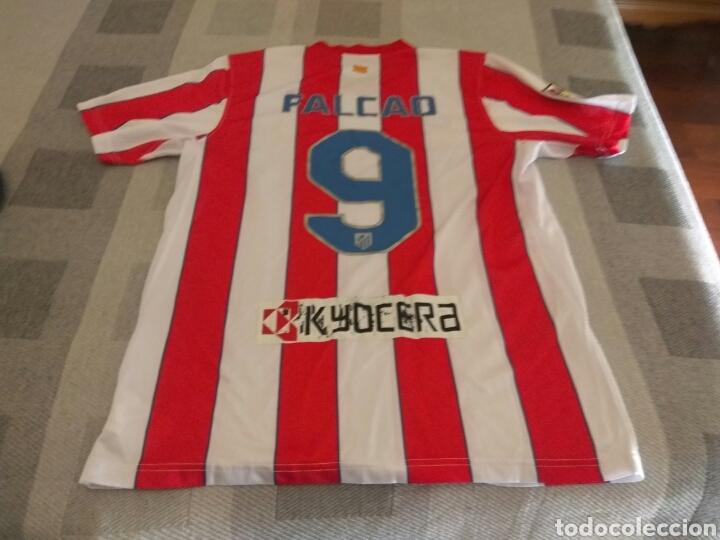 CAMISETA ATLÉTICO MADRID FALCAO NIKE ORIGINAL (Coleccionismo Deportivo - Material Deportivo - Fútbol)
