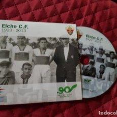 Coleccionismo deportivo: DVD CD 90 AÑOS ANIVERSARIO CENTENARIO FUTBOL ESPAÑA FOOTBALL ELCHE C.F. ELX ESTADIO MARTINEZ VALERO. Lote 208100298