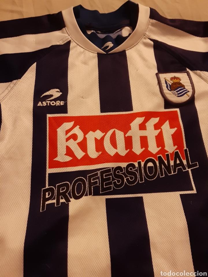 Coleccionismo deportivo: Equipaje Fútbol Real Sociedad - Foto 2 - 209385532