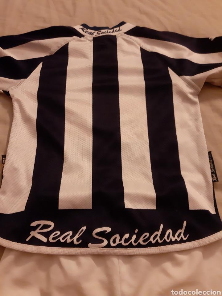 Coleccionismo deportivo: Equipaje Fútbol Real Sociedad - Foto 4 - 209385532