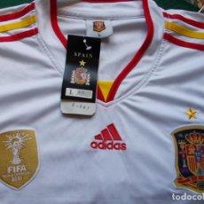 Coleccionismo deportivo: CAMISETA OFICIAL DE LA SELECCIÓN ESPAÑOLA ADIDAS CON EL NOMBRE DE IROCHKA. Lote 210543361
