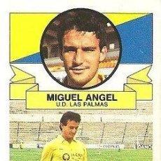 Colecionismo desportivo: MIGUEL ÁNGEL CABRERA DONA UN PAR DE BOTAS DE SU ÉPOCA. Lote 211400199