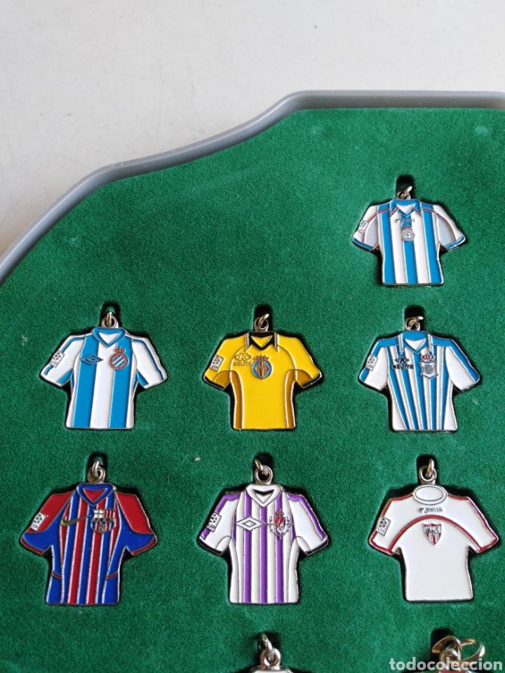 Coleccionismo deportivo: Colección 20 llaveros camisetas equipos 1 división - Foto 2 - 211404444