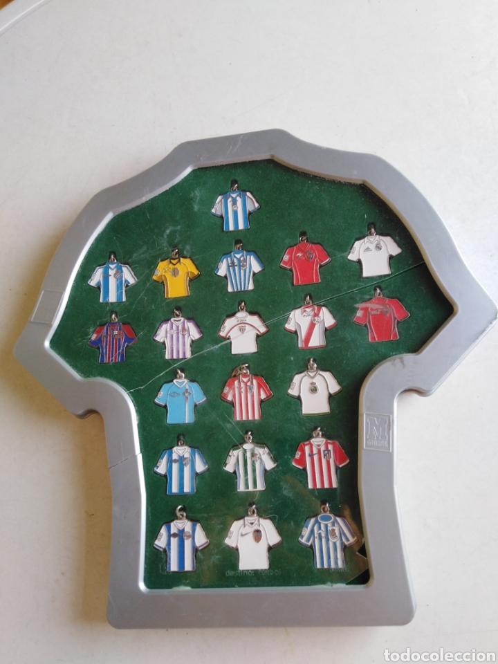 Coleccionismo deportivo: Colección 20 llaveros camisetas equipos 1 división - Foto 28 - 211404444