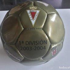 Coleccionismo deportivo: BALÓN DE ASCENSO A 1ª DIVISIÓN DEL REAL MURCIA - 2003 - 2004 - 03 - 04. Lote 211844335