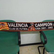 Coleccionismo deportivo: BUFANDA VALENCIA CF. Lote 212165213