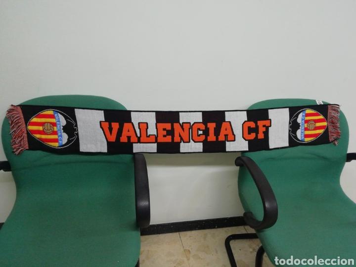 BUFANDA VALENCIA CF (Coleccionismo Deportivo - Material Deportivo - Fútbol)