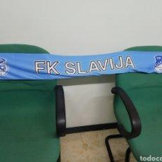 Coleccionismo deportivo: BUFANDA FK SLAVIJA SARAJEVO DE BOSNIA HERZEGOVINA. Lote 212168227