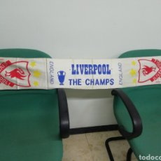 Coleccionismo deportivo: BUFANDA LIVERPOOL FC DE INGLATERRA. Lote 212169545