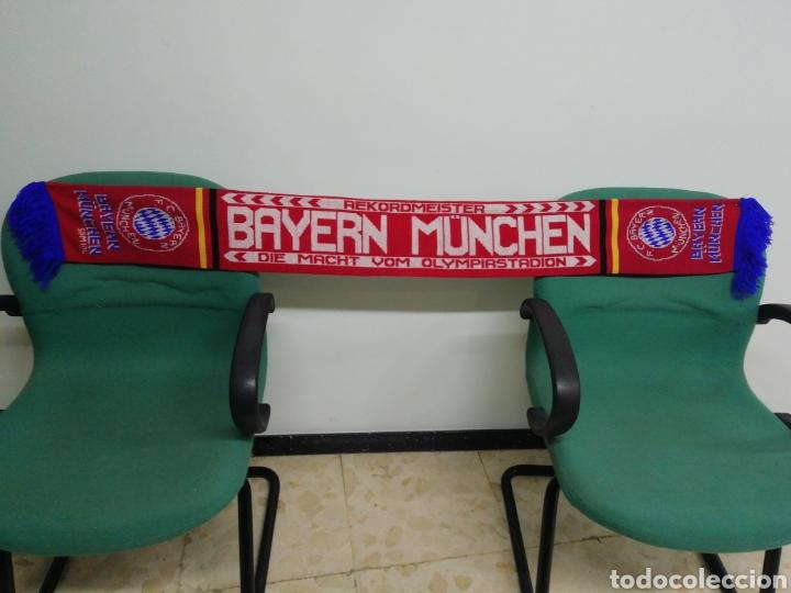 BUFANDA F. C. BAYERN MUNCHEN DE ALEMANIA (Coleccionismo Deportivo - Material Deportivo - Fútbol)