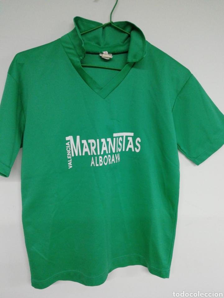 CAMISETA MARIANISTAS ALBORAYA (Coleccionismo Deportivo - Material Deportivo - Fútbol)