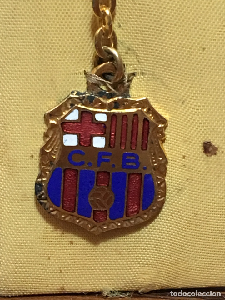 Coleccionismo deportivo: LLAVERO CLUB FÚTBOL BARCELONA ESMALTADO - Foto 2 - 212500100
