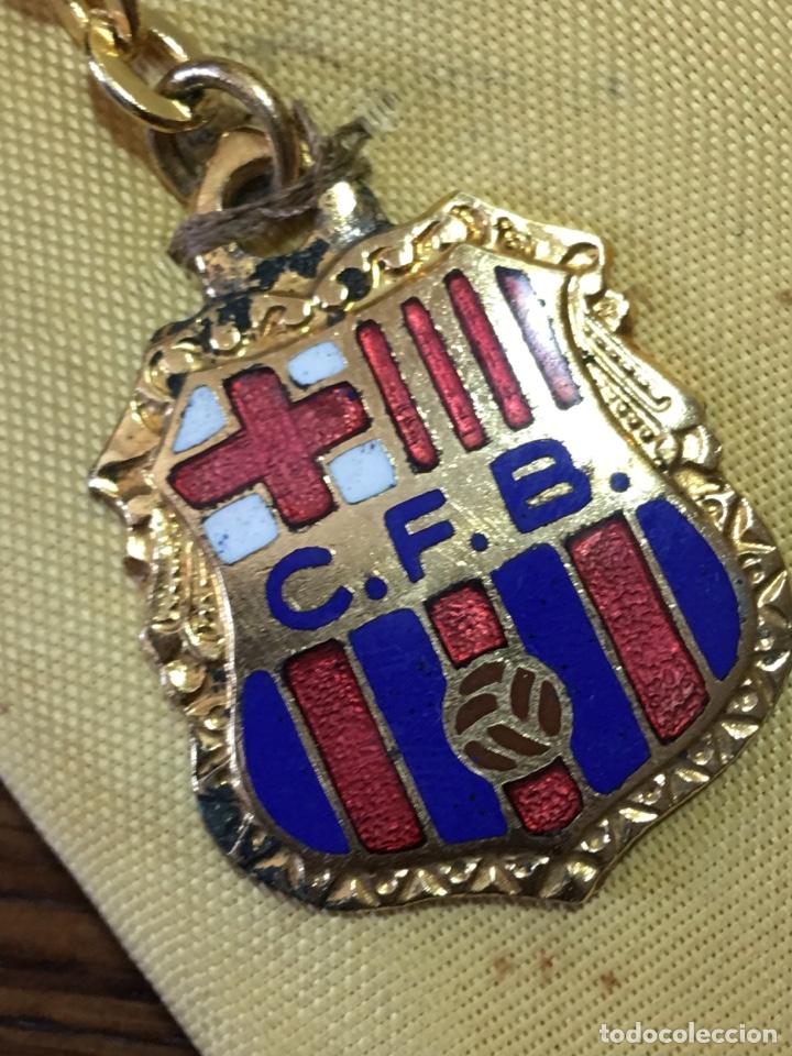 Coleccionismo deportivo: LLAVERO CLUB FÚTBOL BARCELONA ESMALTADO - Foto 6 - 212500100