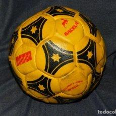 Coleccionismo deportivo: (M) BALON PELOTA DE FUTBOL MARCA MAMBO GACELA , SEÑALES DE USO. Lote 212614073