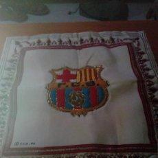 Coleccionismo deportivo: FUNDA DE COJIN. FUTBOL CLUB F .C. BARCELONA. 1996. MED. 40,2 X 40,2. Lote 213092682