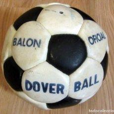 Coleccionismo deportivo: BALON FUTBOL 1981-82 FIRMADO AUTOGRAFOS REAL ZARAGOZA SEÑOR VALDANO LAFITA ZAYAS CAMUS JUANJO CASUCO. Lote 213305542