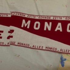Coleccionismo deportivo: BUFANDA AS MONACO FOOTBALL. COMPRADA EN MONTECARLO.. Lote 213828321