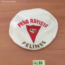 Coleccionismo deportivo: BOINA PEÑA RAYISTA ANTIGUA. Lote 213921026