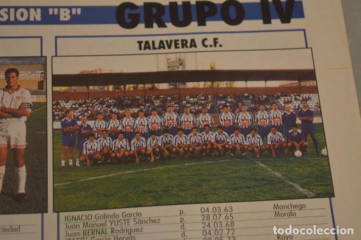 RECORTE DE DON BALON.INICIO TEMPORADA 94-95.RELACIÓN DE JUGADORES Y FOTO DEL TALAVERA (Coleccionismo Deportivo - Material Deportivo - Fútbol)