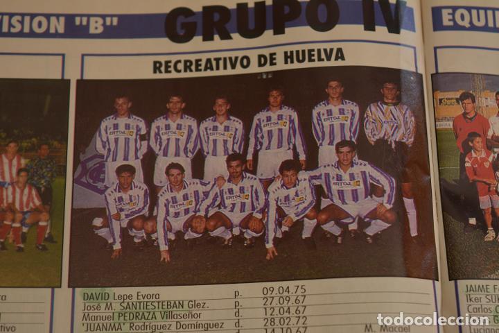 RECORTE DE DON BALON.INICIO TEMPORADA 94-95.RELACIÓN DE JUGADORES Y FOTO DEL RECREATIVO HUELVA (Coleccionismo Deportivo - Material Deportivo - Fútbol)