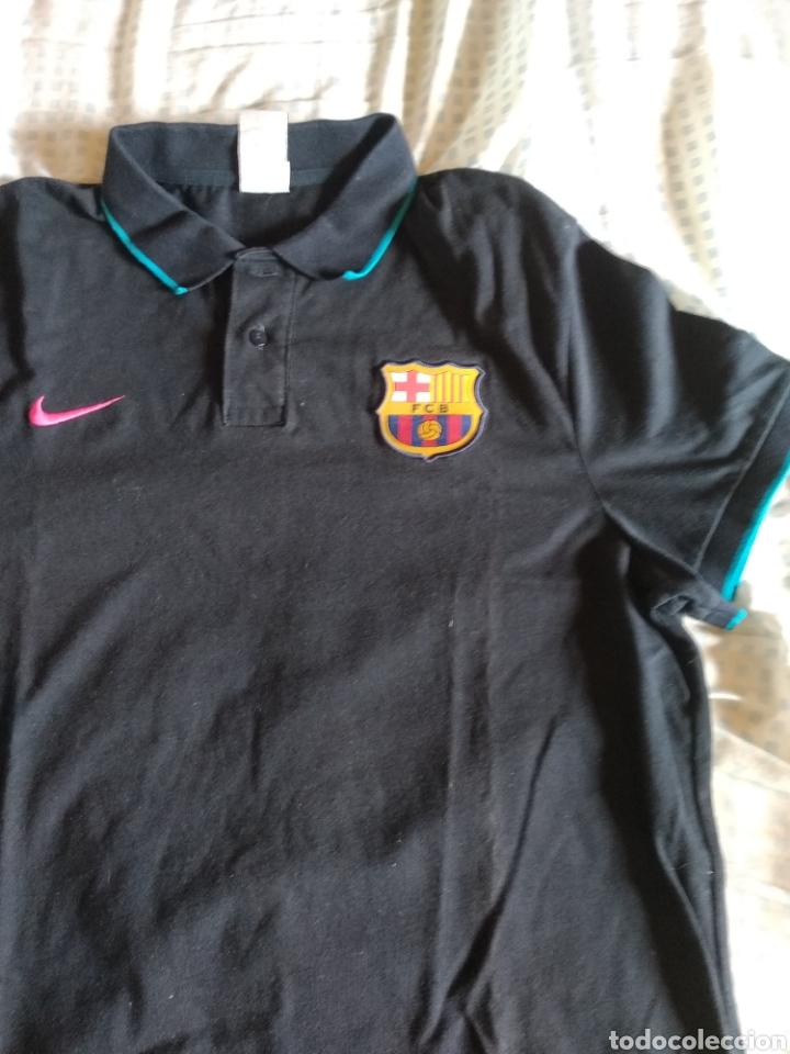 Coleccionismo deportivo: Polo camiseta NIKE Barça - Foto 2 - 214188011