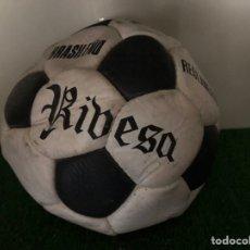 Coleccionismo deportivo: BALÓN RIBESA BRASILEÑO NUNCA USADO AÑOS 60-70. Lote 216838218
